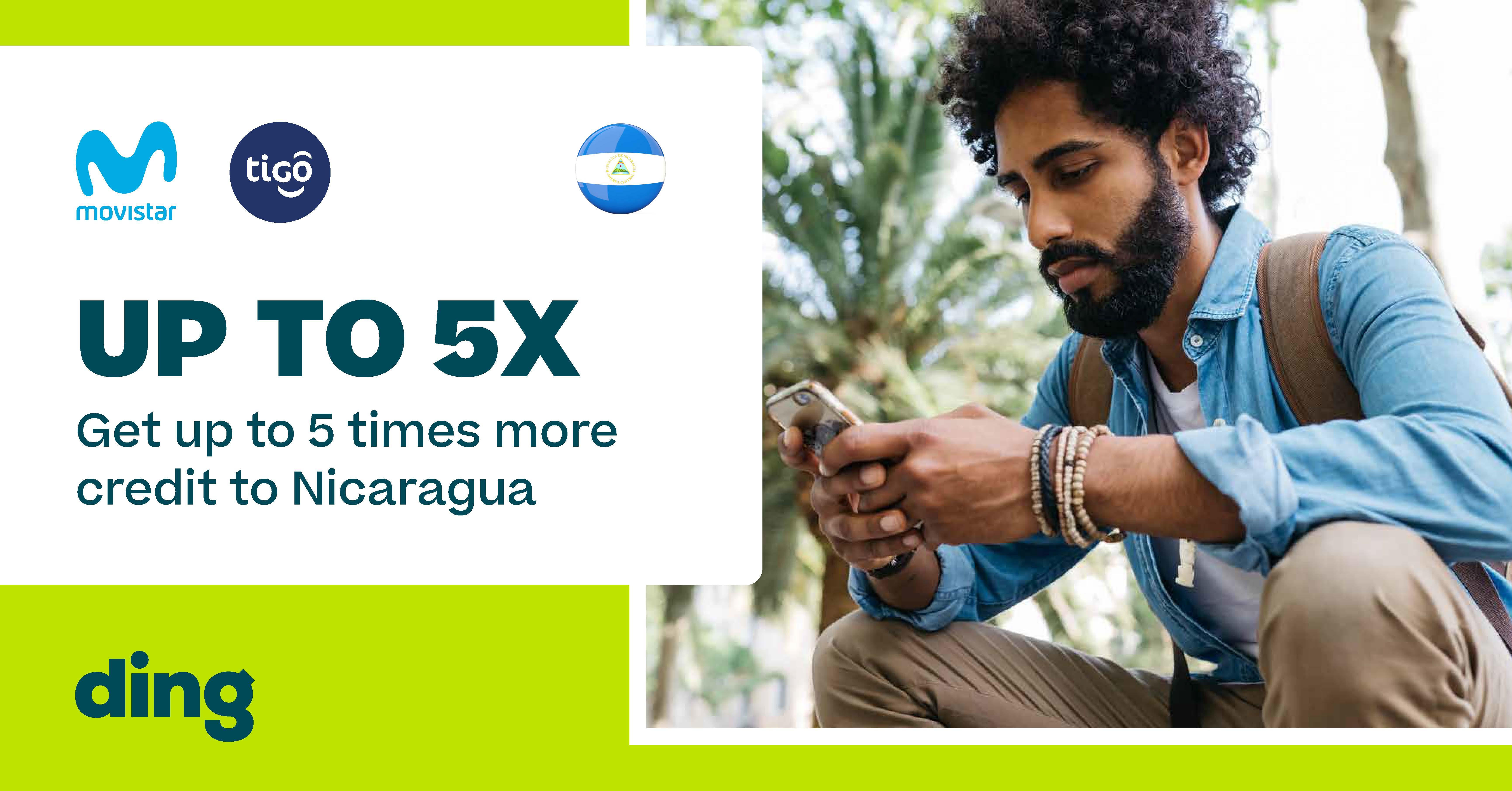Tigo Nicaragua 5X Sales Promotion