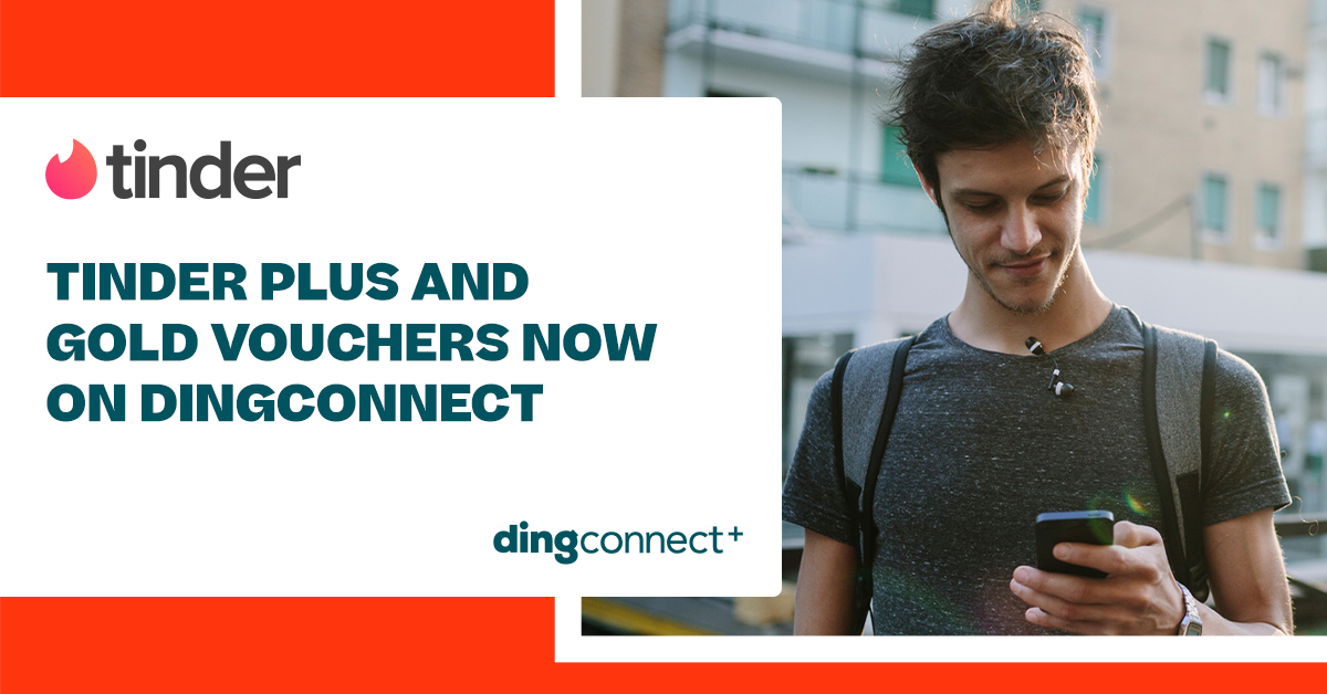 Sell Tinder Vouchers on DingConnect